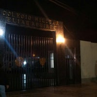 Photo taken at Colegio Militar Elías Aguirre by GiulianA D. on 6/9/2014