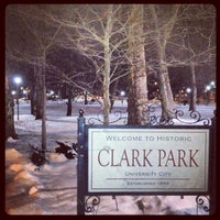 Photo taken at Clark Park by ✨ Larry S. on 1/27/2014