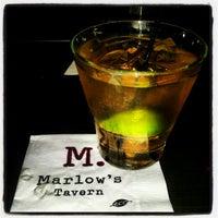 Photo taken at Marlow's Tavern by Jamar L. on 12/16/2012