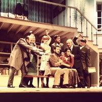 Photo taken at Teatro Luigi Pirandello by zoila c. on 5/16/2013