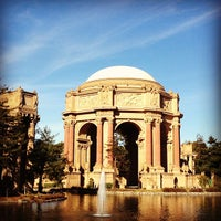 Photo taken at Palace of Fine Arts by Rebecca K. on 1/20/2013