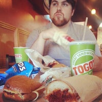 Photo taken at TOGO'S Sandwiches by Jordan T. on 1/15/2014