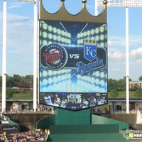 Photo taken at Kauffman Stadium by HMFW on 8/6/2013