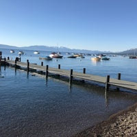 Photo taken at Tahoe Park Homeowners Beach by Mark L. on 6/23/2017