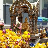 Photo taken at Erawan Shrine by Gabrielle X. on 4/10/2013
