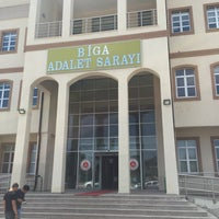 Photo taken at Biga Adalet Sarayı by İsa Y. on 6/22/2016