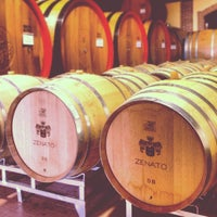 Photo taken at Zenato Winery by Andy C. on 9/28/2013