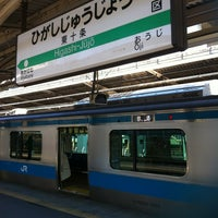 Photo taken at Higashi-Jujo Station by 支部長 on 1/25/2013