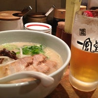 Photo taken at Ippudo by Naoko F. on 2/28/2013
