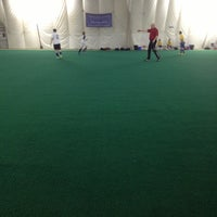 Photo taken at Barrie Sports Dome by Lydia B. on 3/27/2013