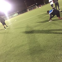 Photo taken at Third Street Football Field by Fahad 1. on 12/11/2017