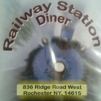 Photo taken at Railway Station Diner by Melisa S. on 1/20/2014