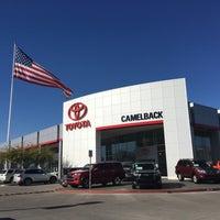 Photo taken at Camelback Toyota by Sham K. on 12/29/2015