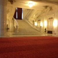 Photo taken at Palatul Parlamentului by Eike K. on 10/1/2012