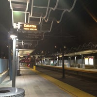 Photo taken at Expo Park/USC Metro Station by Richard M. on 7/21/2013