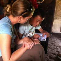 Photo taken at Kangmai Hmong Village by Mike & Anne H. on 2/23/2013
