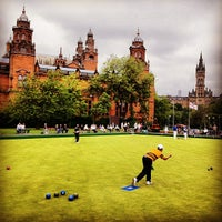 Photo taken at Kelvingrove Bowling by Mike & Anne H. on 8/26/2013