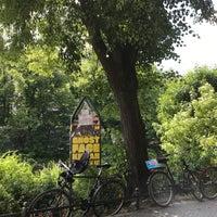 Das Foto wurde bei Pavillon am Ufer von Sebastian D. am 5/26/2018 aufgenommen
