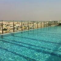 Photo taken at Pool@ Radisson Royal Hotel by Ekaterina T. on 12/16/2012