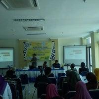 Photo taken at Gedung Rektorat Universitas Trunojoyo by Wahyu A. on 11/13/2012