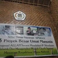 Photo taken at Yayasan Pondok Pesantren SPMAA by Wahyu A. on 10/23/2013