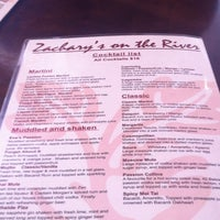 Photo taken at Zacharys Gourmet Pizza Bar by Emily B. on 5/12/2013