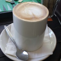 Photo taken at Quenchers Espresso Bar & Juicery by Emily B. on 3/18/2014