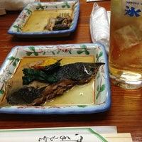 Photo taken at 魚がし 一番町店 by Gianni G. on 1/19/2013