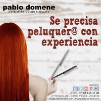 Photo taken at Peluquería Pablo Domene Estilistas Hair & Beauty by Pablo D. on 7/16/2015