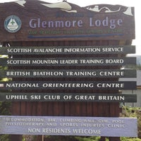 Photo taken at Glenmore Lodge by Rene L. on 9/12/2013