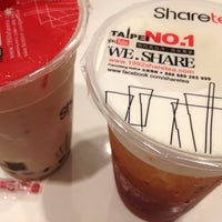 Photo taken at Share Tea by Julie C. on 8/17/2013