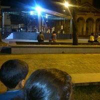 Photo taken at Praça Nossa Senhora Do Sion by Daniel S. on 8/21/2014