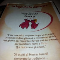 Photo taken at Porcelli Tavern by Paola M. on 7/19/2013