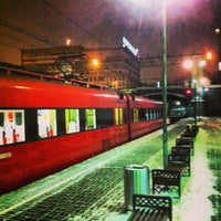 Photo taken at Aeroexpress Terminal at Belorusski Railway Station by 🅰︎🅽🅳🆁🅴🅸 🆅 on 12/26/2012