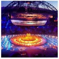 Photo taken at Kazan-Arena by Александр on 7/4/2013