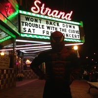 Photo taken at Strand Theater by Will G. on 10/27/2012