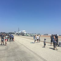 Photo taken at Long Beach Airport Tarmac by Brandon T. on 8/19/2017