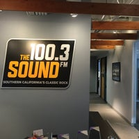 Photo taken at 100.3 The Sound by Brandon T. on 2/10/2016