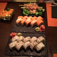 Photo taken at Sensations Sushi Marbella by Марат . on 6/25/2014