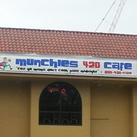 Photo taken at Munchies 420 Cafe by JD B. on 1/6/2013