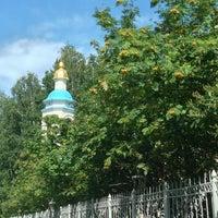 Photo taken at Епархиальный монастырь святого мученика Евгения by Olga 🍀🍀🍀 on 8/11/2013