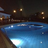 Photo taken at Atlantica Aeneas Resort Hotel pool by Olga 🍀🍀🍀 on 5/3/2013