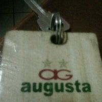 Photo taken at Hotel Augusta Bandung by Biel p. on 11/15/2012