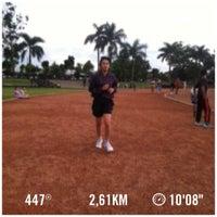 Photo taken at Brigif Running Track by allinmayanda on 4/9/2014