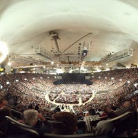 Photo taken at Olympiahalle by Andreas S. on 6/9/2013