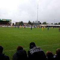 Photo taken at Marcel De Kerpelstadion by Dieter D. on 6/22/2013
