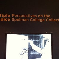 รูปภาพถ่ายที่ Spelman College Museum of Fine Art โดย Leatrice E. เมื่อ 2/8/2013