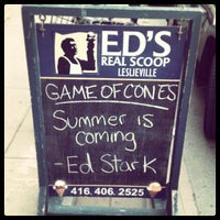 Photo taken at Ed's Real Scoop by Jeff S. on 5/25/2013