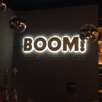 Photo taken at BOOM Bar by Victoria D. on 4/19/2015