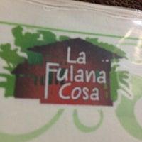 Photo taken at La Fulana Cosa by Luis Adrián T. on 12/30/2012